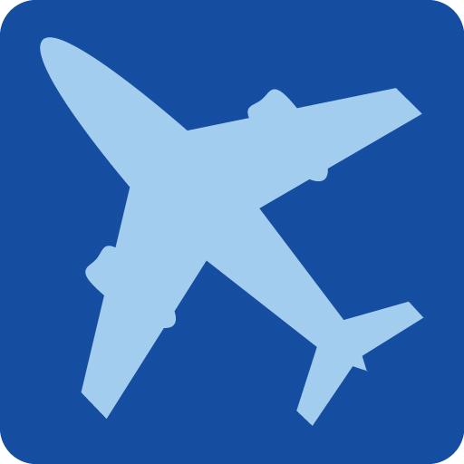 The UK Flights IOS App Icon